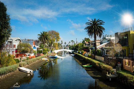 belle journée à Venise en Californie