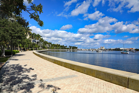 Flagler Drive Waterfront Walking Park, West Palm Beach: This sunny, 7-mile paved linear park runs along the west side of the Intracoastal from Currie Park, past downtown West Palm Beach.