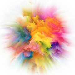 Beautiful Color Splash Explosion