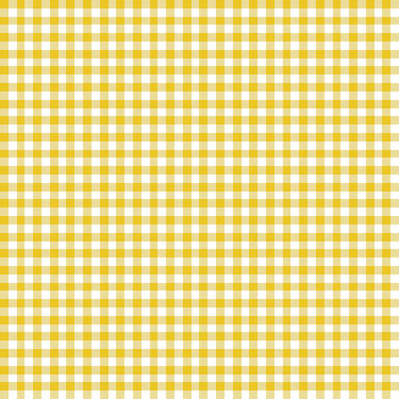 Smooth Gingham Seamless Pattern - Smooth light orange and white classic gingham texture