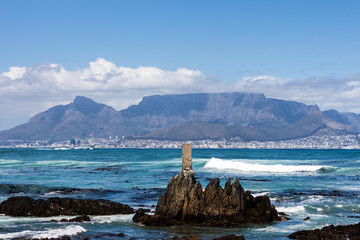 Cape Town from Robben Island