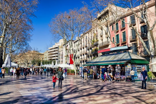Barcelona, Rambla