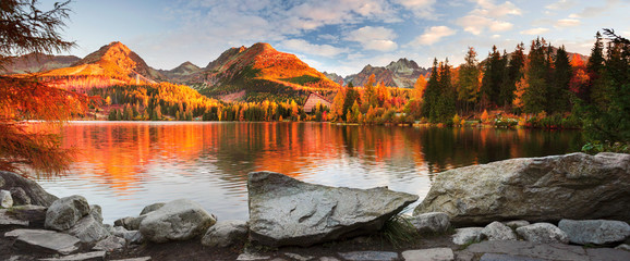 Wall Mural - Strbske Pleso in the Tatras