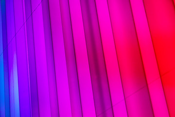 Colorful abstract neon modern lights
