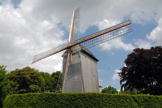 Ville de Cassel, département du Nord, France
