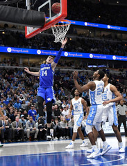 NCAA Basketball: Kentucky at North Carolina