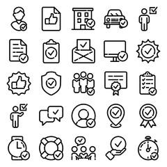 Approve Icon Set