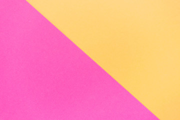 Pink and sand color papers geometric flat lying as background and template. Abstract modern background.