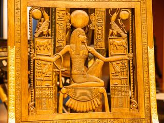 Rückenlehne von einem ägyptischen Stuhl