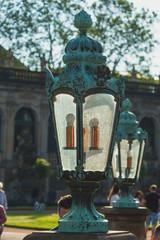 Dresden - Zwinger - Lampe