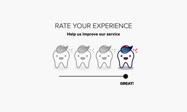 Teeth Health Rating Scale