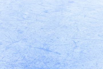 Ice background, scratched ice texture