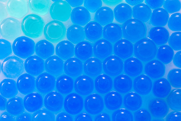 Abstract background with hydrogel balls