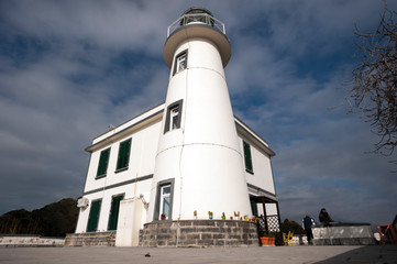 Capo Miseno Lighthouse.
