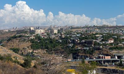 View the city of Yerevan
