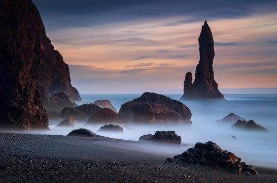 Reynisdrangar rocks
