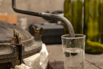 Alcohol production in home conditions. Accessories for the production of homemade moonshine.