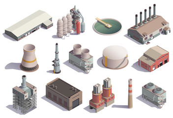 Isolated Industrial Buildings Collection