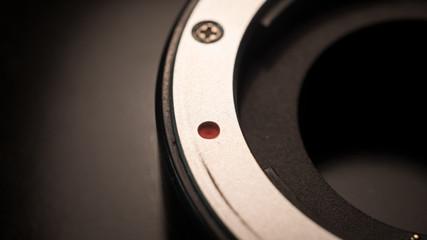 Bayonet lens close-up macro sahoot of extension tube