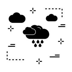 vector rain icon