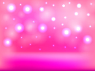 Colorful abstract pink shiny background. Vector illustration.