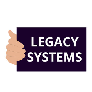 Announcement text showing Legacy Systems.