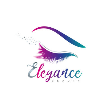 Beauty Eye Elegance Logo Sign Symbol Icon
