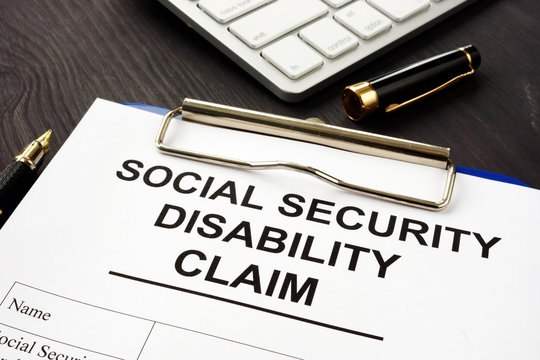 Social security disability benefits claim and pen.