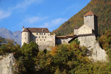 Tyrol Castle in Tirolo, South Tyrol, Italy