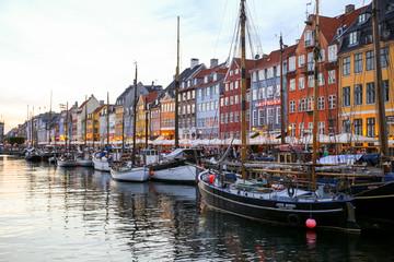 Foto op Canvas Europese Plekken Nyhavn in copenhagen