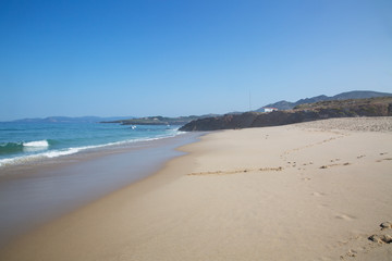 Furnas Beach; Xuno; Galicia