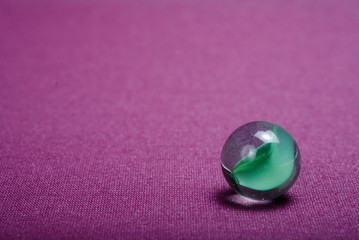 cristal ball  in purple background