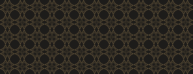 Background simple seamless pattern in art modern style. Geometric dark Wallpapers for your graphic projects, books, brochures, posters, business cards. Vector illustration