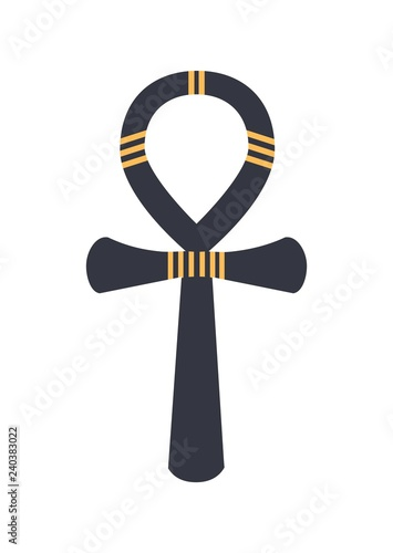 Ankh, ancient Egyptian hieroglyphic sign or logograph