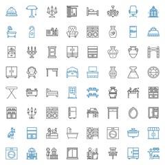 interior icons set