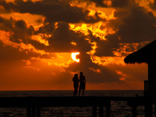 Sunset Maledives