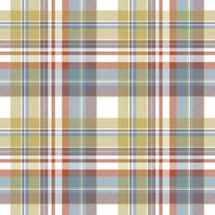 Check fabric texture diagonal seamless pattern