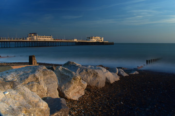 Worthing Pier Sussex England UK