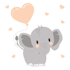 elephant with heart