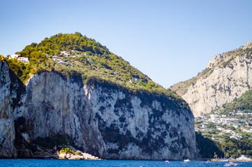 amalfi coast landscape