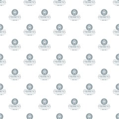 Robot toy pattern vector seamless repeat for any web design