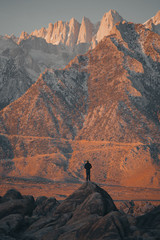 Mt Whitney Silhouette