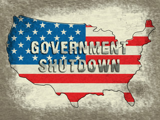 Government Shutdown Usa Means America Closed By Senate Or President