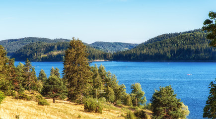 Lake Schluchsee. Black Forest. Germany