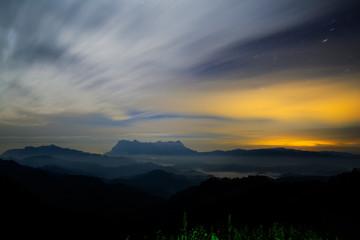 Doi Luang Chiang Dao Mountain Chiang mai Thailand
