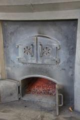 余市のウヰスキー蒸溜所の炉