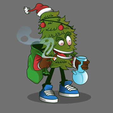 christmas tree smoke weed