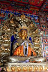 Great day tathagata statue in the Five Pagoda Temple, Hohhot city, Inner Mongolia autonomous region, China