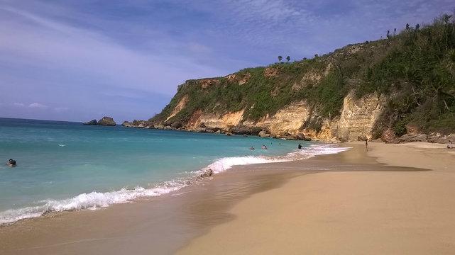 Borinquen Beach in Aguadilla Puerto Rico