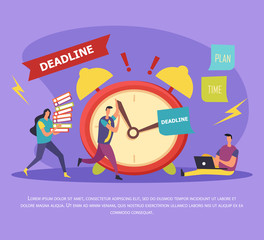 Work In Deadline Flat Composition